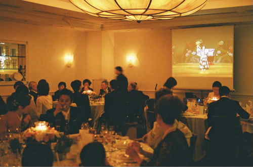 日本舞踊の舞台をDVDでご披露